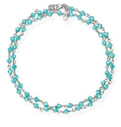 Romance BRBT34 dupla ezüstkarkötő kristályokkal