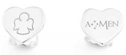 Originální stříbrné náušnice Angels OTI1