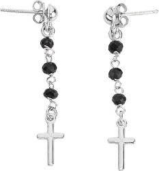 Originální stříbrné náušnice Rosary OROBN1