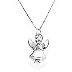 Originální stříbrný náhrdelník Angels A1B (řetízek, přívěsek)