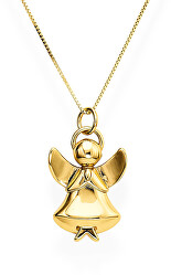 Originální stříbrný náhrdelník Angels A1G (řetízek, přívěsek)