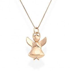Originální stříbrný náhrdelník Angels A1R (řetízek, přívěsek)