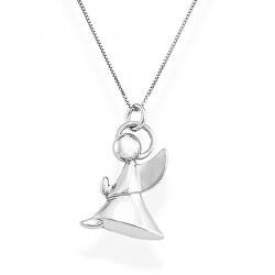 Originální stříbrný náhrdelník Angels A4R (řetízek, přívěsek)