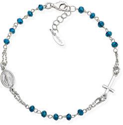 Originální stříbrný náramek s krystaly Rosary BROBBL3