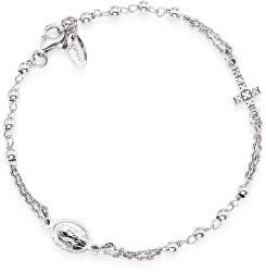 Originální stříbrný náramek se zirkony Rosary BROBZ3