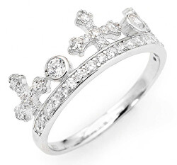 Eredeti ezüst gyűrű cirkóniákkal AC1