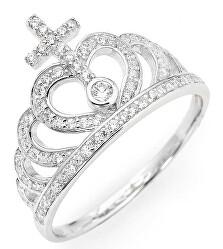 Eredeti ezüst gyűrű cirkóniákkal AC2