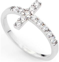 Originální stříbrný prsten se zirkony Rosary ACOBB