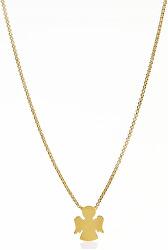 Pozlacený stříbrný náhrdelník Angels CLAG3