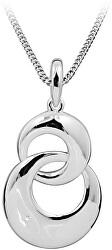 Strieborný náhrdelník s diamantom DAGS797 / 50 (retiazka, prívesok)