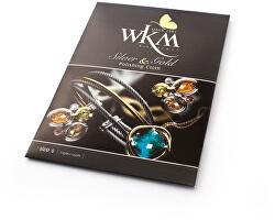 Cârpă de curățare pentru bijuterii din argint și aur WKM POL S