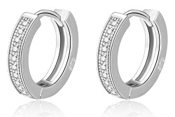 Cercei rotunzi eleganți din argint AGUC2237