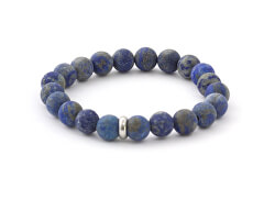Korálkový náramek z lapisu lazuli MINK42/17