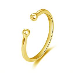 Minimalistický pozlacený prsten AGG470-G