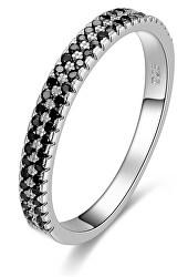 Módní dámský prsten se zirkony AGG387