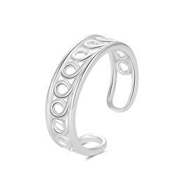 Inel fin din argint pentru picior AGGF486