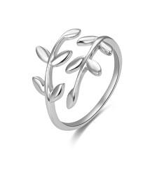 Otevřený stříbrný prsten s originálním designem AGG468