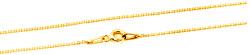 Pozlacený stříbrný řetízek Anker AGS1286-GOLD