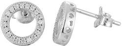 Stříbrné náušnice s krystaly AGUP917