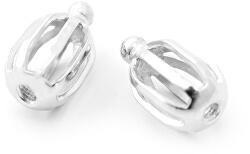 Stříbrný balónek/šroubek k náušnicím Beneto - 1 pár