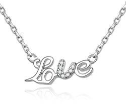 Stříbrný náhrdelník Love AGS271/48