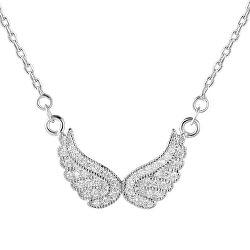Stříbrný náhrdelník s křídly AGS194/47