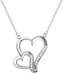 Stříbrný náhrdelník se srdíčkem AGS291/48