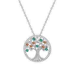 Strieborný náhrdelník so stromom života AGS1139 / 47