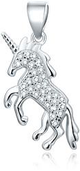 Ciondolo in argento Unicorno AGH93
