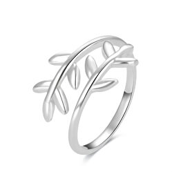 Inel din argint pentru picior cu frunze AGGF496