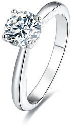 Stříbrný prsten s krystaly AGG200