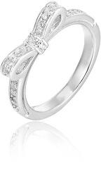Anello in argento con fiocco AGG210