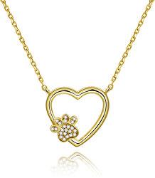 Collana in oro Amore per un animale domestico AGS702/48-GOLD