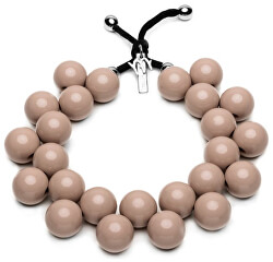 Originální náhrdelník C206-14-1118 Beige