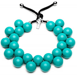 Originálne náhrdelník C206 16-5127 Azzurro Ceramica