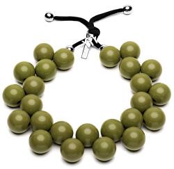 Originálne náhrdelník C206 18-0316 Verde Oliva