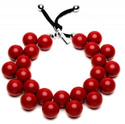 Originální náhrdelník C206 19-1557 Rosso Peperone