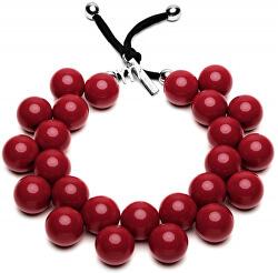 Originální náhrdelník C206-19-1650 Bordeaux