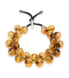 Originální náhrdelník C206FEELAMBR Ambra