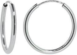 Dámske náušnice kruhy z bieleho zlata P115.750112005.575