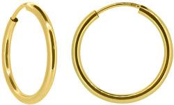 Dámske náušnice kruhy zo žltého zlata P005.750112005.75