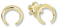 Drobné minimalistické náušnice ze žlutého zlata 231 001 00642