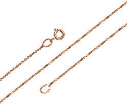 Jemný řetízek z růžového zlata Anker ANKER020_P