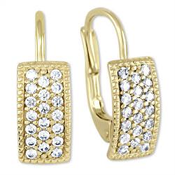 Krásné náušnice ze žlutého zlata 239 001 00679