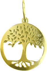 Krásný zlatý přívěsek Strom života PA7001