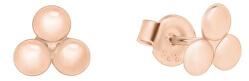 Minimalistické náušnice z ružového zlata GOLD015_AU_R