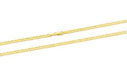 Moderná retiazka zo žltého zlata AUS0008-G