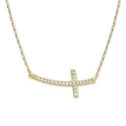 Nadčasový náhrdelník zo žltého zlata 279 001 00079 00