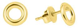 Náušnice ze žlutého zlata kroužky GOLD009_AU_Y