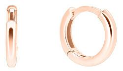 Nežné kruhy z ružového zlata pe071_AU_R
